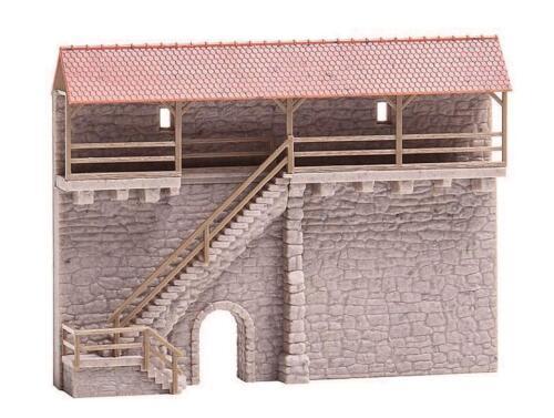 Faller 232353 N Altstadtmauer mit Treppe NEU /& OvP