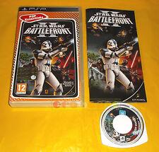 STAR WARS BATTLEFRONT II 2 Psp Versione Italiana Essentials ○○○○ COMPLETO - AT