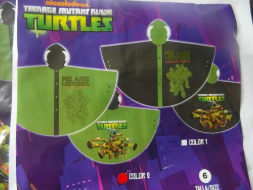 Teenage Mutant Ninja Turtles-Enfants Poncho Imperméable