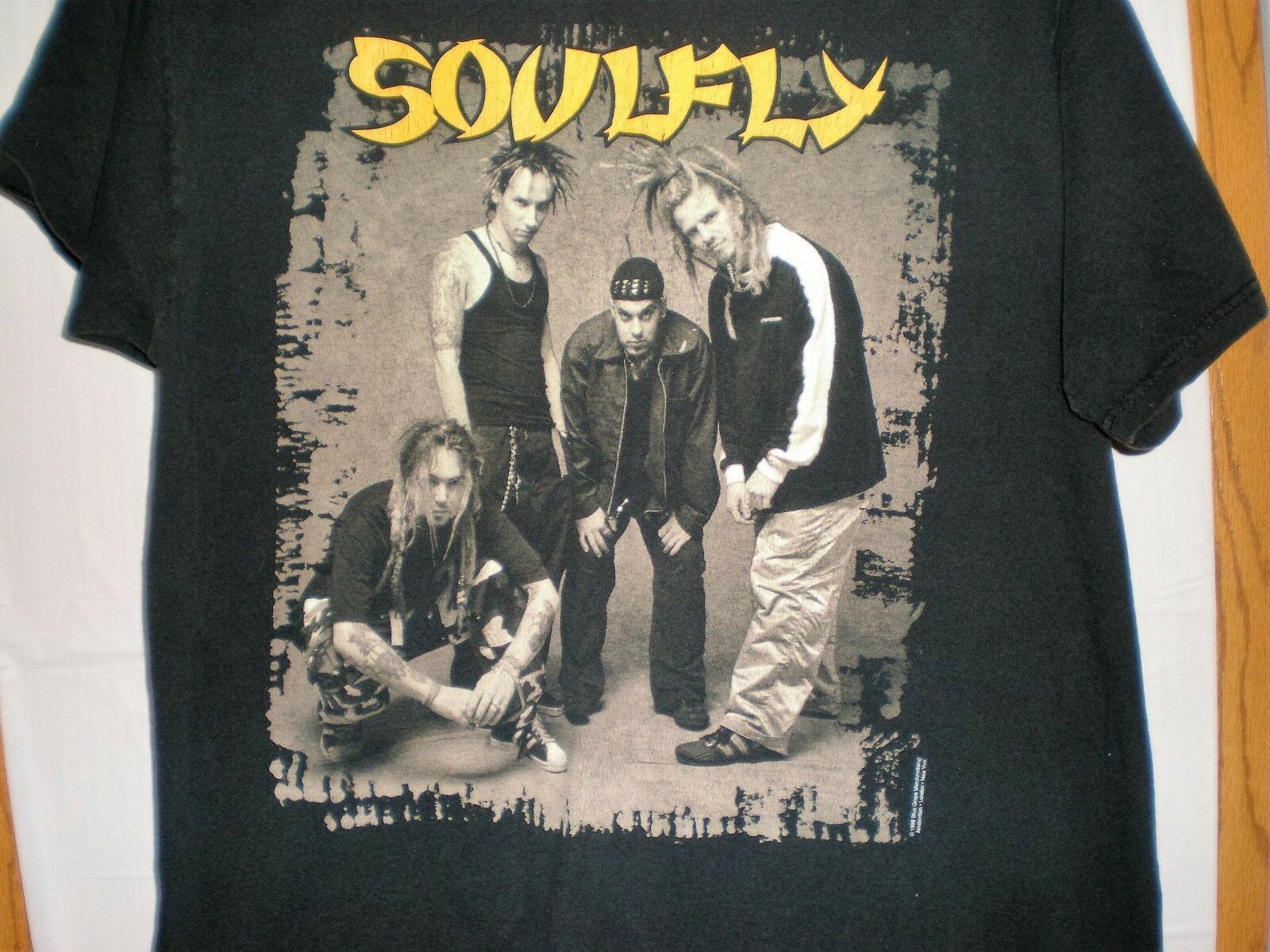 S à 6XL T /_ shirt Tailles Soulfly-Carnage-American metal band