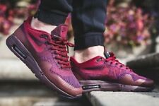Nike Air Max 1 Ultra Flyknit Grand Purple Red Mens Running Shoes 856958 566 10.5