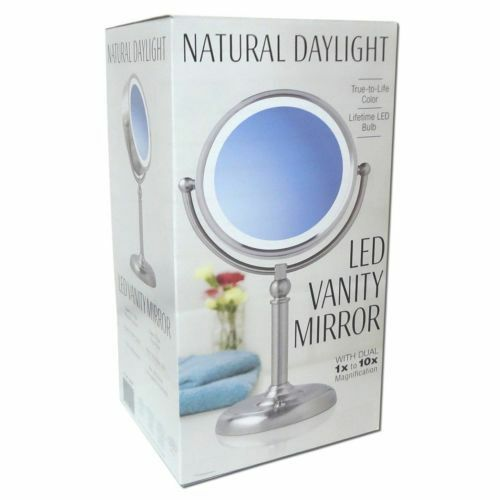 Sunter Natural Daylight Mirror Vanity Makeup Led Lighted