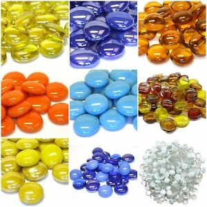 BULK-BUY-1000-Decorative-Glass-Pebble-Stones-Beads-Nuggets-Wedding-Decoration