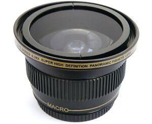Ultra-Super-HD-Panoramic-Fisheye-Lens-For-Panasonic-HC-X900M-HC-X900K