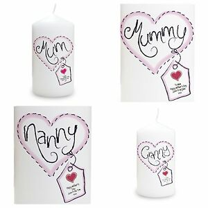 Image Is Loading PERSONALISED CANDLE Birthday Mothers Day Christmas Gift Idea