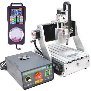 4-Axis-CNC3020-ROUTER-ENGRAVER-DRILLING-MILLING-MACHINE-Claw-Rotational-Chuck