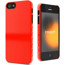 Genuine Cygnett AeroGrip Form PC Case with Screen Protector for iPhone 5, 5S, SE