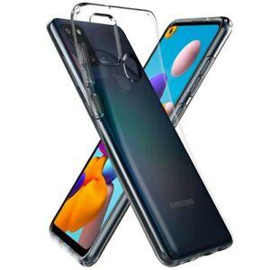 Housse Etui Coque Silicone GEL [Transparent] Samsung Galaxy A21S