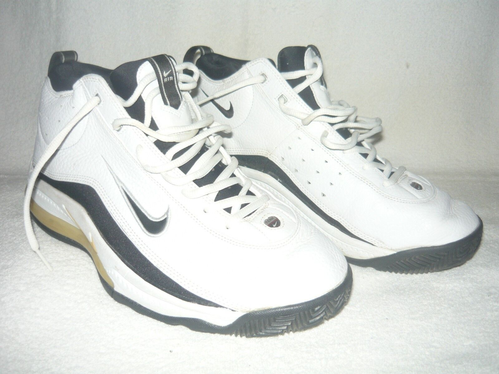 Nike Air Team Max Zoom II 2 139363-101 size 12 White-Black 1999 original