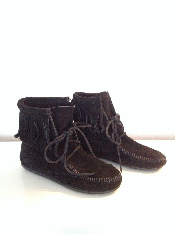Støvler Str 35 Minnetonka Dbadk Køb Og Salg Af Nyt Og Brugt