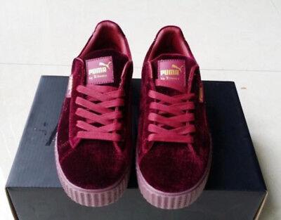 arrives 0456c 68f9b New Velvet Puma Fenty PUMA Creeper Rihanna x Pack Trainer Sneaker Shoes |  eBay