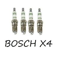 Chevrolet Ford Buick Pontiac Cadillac Bosch Set Of 4 Spark Plugs Hr 9 Dcy