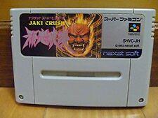 Super Famicom Jaki Crush Japan SFC SNES