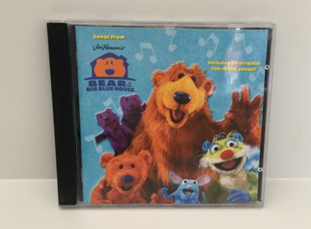 BEAR IN THE BIG BLUE HOUSE - Songs From CD 2000 Jim Henson / ABC For Kids