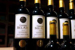 12-Flaschen-2014er-Chateau-Bel-Air-WF-96-100-Gold-Gilbert-amp-Gaillard-034-dunkle