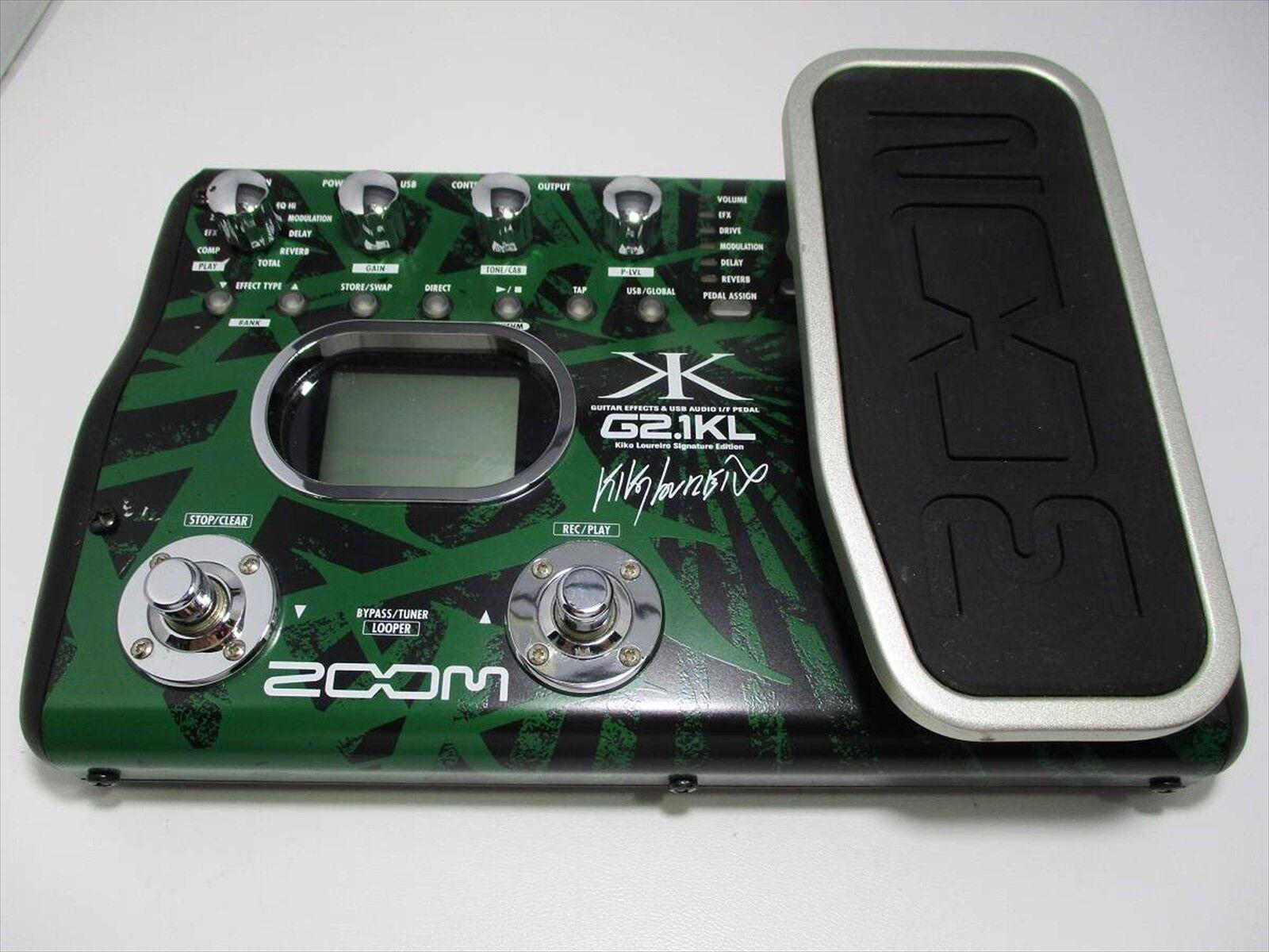 Gebraucht Zoom Multi-Effector für Gitarre Audio Interface G2.1KL Kiko Loureiro