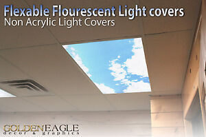 image is loading fluorescent light cover diffuser sky amp cloud dentist