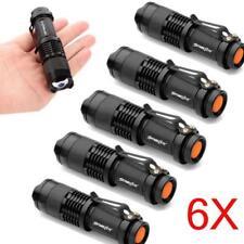 Mini Durable LED Torch LED Flashlight Adjustable Focus Zoom Flash Light Lamp