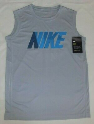 L NWT NIKE YOUTH BOYS/' DRI-FIT TANK TOPS SHIRTS 100/% POLYESTER SIZE