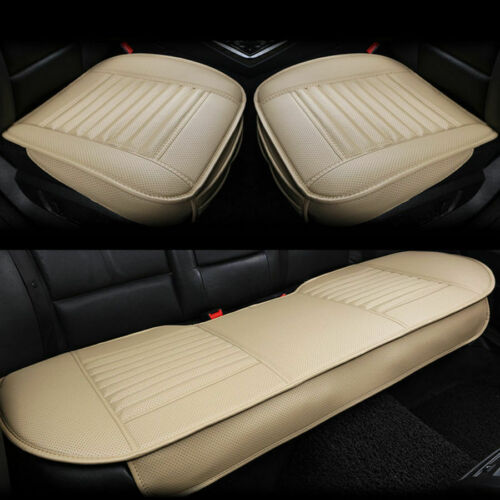 Universal PU Leather Car Seat Cover3D Pad Mat Auto Chair Cushion Breathable