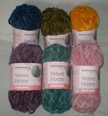 100 Gr Velvet Home from Schachenmayr Velvety Soft Chenille Yarn