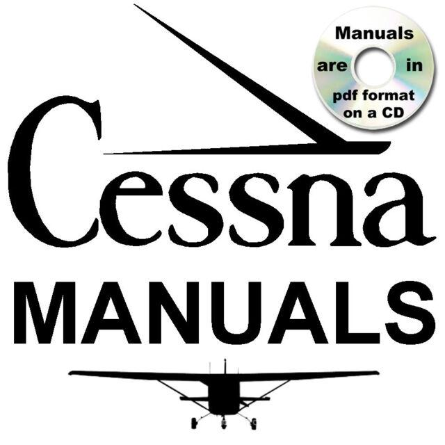 cessna 172 series service repair manual illustrated parts manuals rh ebay com cessna 152 parts manual cessna 172 owners manual pdf