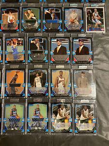 2003-04 Bowman Signature Basketball Card Lot