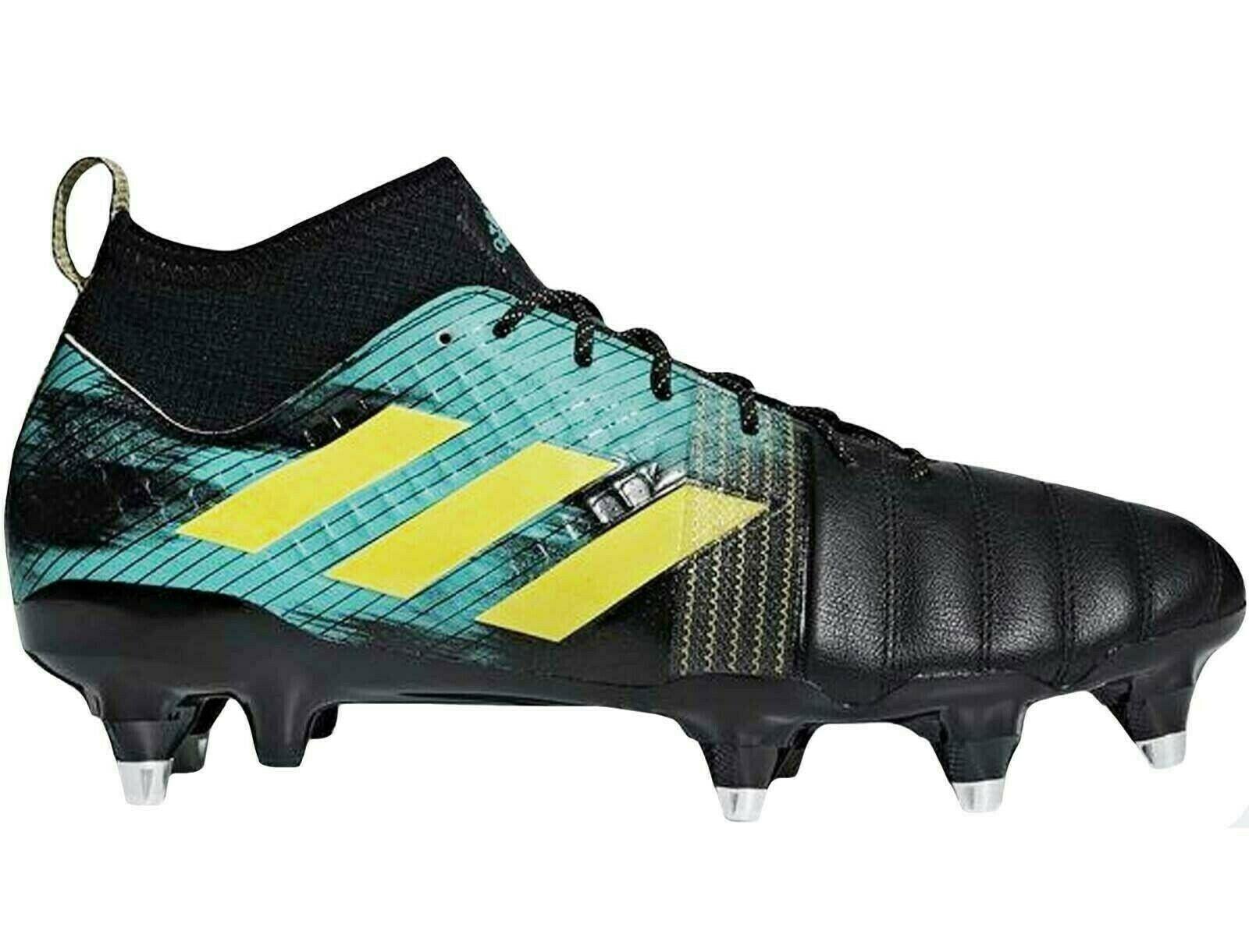 Adidas Performance Homme Kakari X Kevlar SG Rugby Entraînement Chaussure Bottes Noir Uk 11