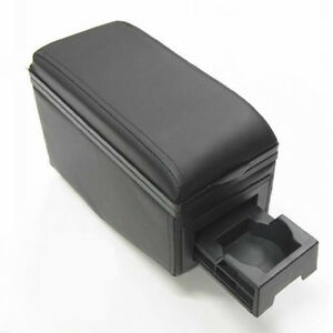 black Arm rest Armrest Centre Console Box For Bmw E21 E30 E36 E46