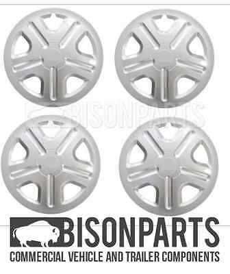 """RIMS WHEEL COVERS TRA392 X 4 *FORD TRANSIT CONNECT 2002-2009 15/"""" WHEEL TRIMS"""