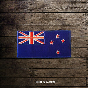 New-Zealand-National-Flag-Embroidered-Iron-On-Sew-On-Patch-Badge