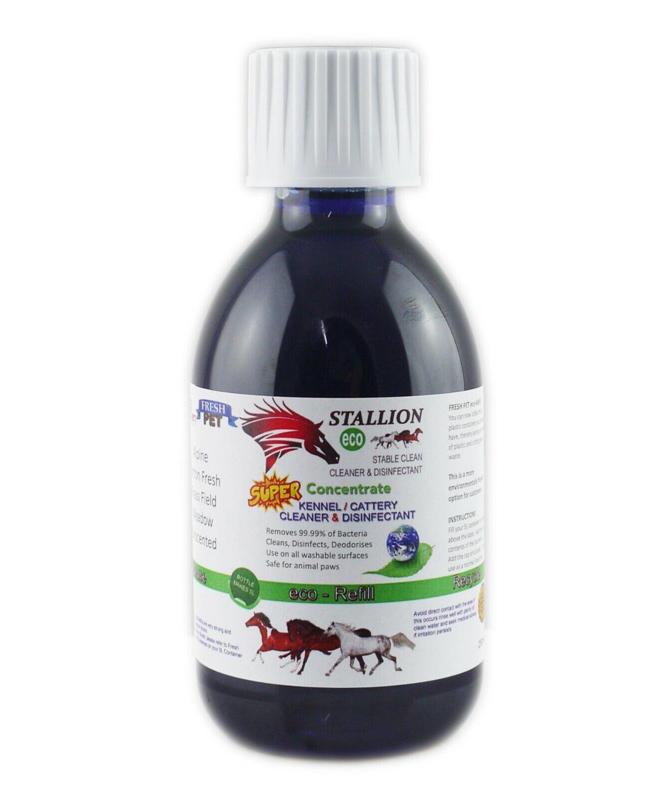 Hengst von Fresh Pet Stable Cleaner Desinfektion Eco Refill für 5L - Alpine