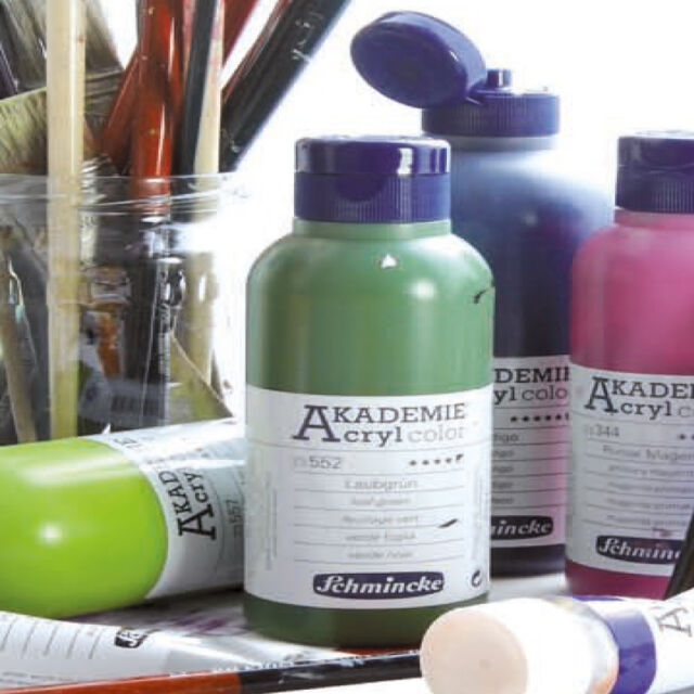 Schmincke Akademie Acrylfarbe 250ml Acrylfarben Farben Acryl Farbe Künstlerfarbe