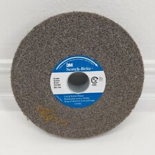 1//Pk 3M Scotch-Brite 6x1x1 7A MED Cut and Polish Deburring Wheel CP-WL 03262