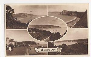 Seaton-Devon-1958-Postcard-A905
