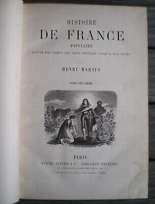 Livre Ancien Relie Illustre Histoire De France Populaire