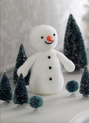 King Cole Crochet libro 2 patrones Decoraciones de Navidad Santa Rudolph Muñeco De Nieve