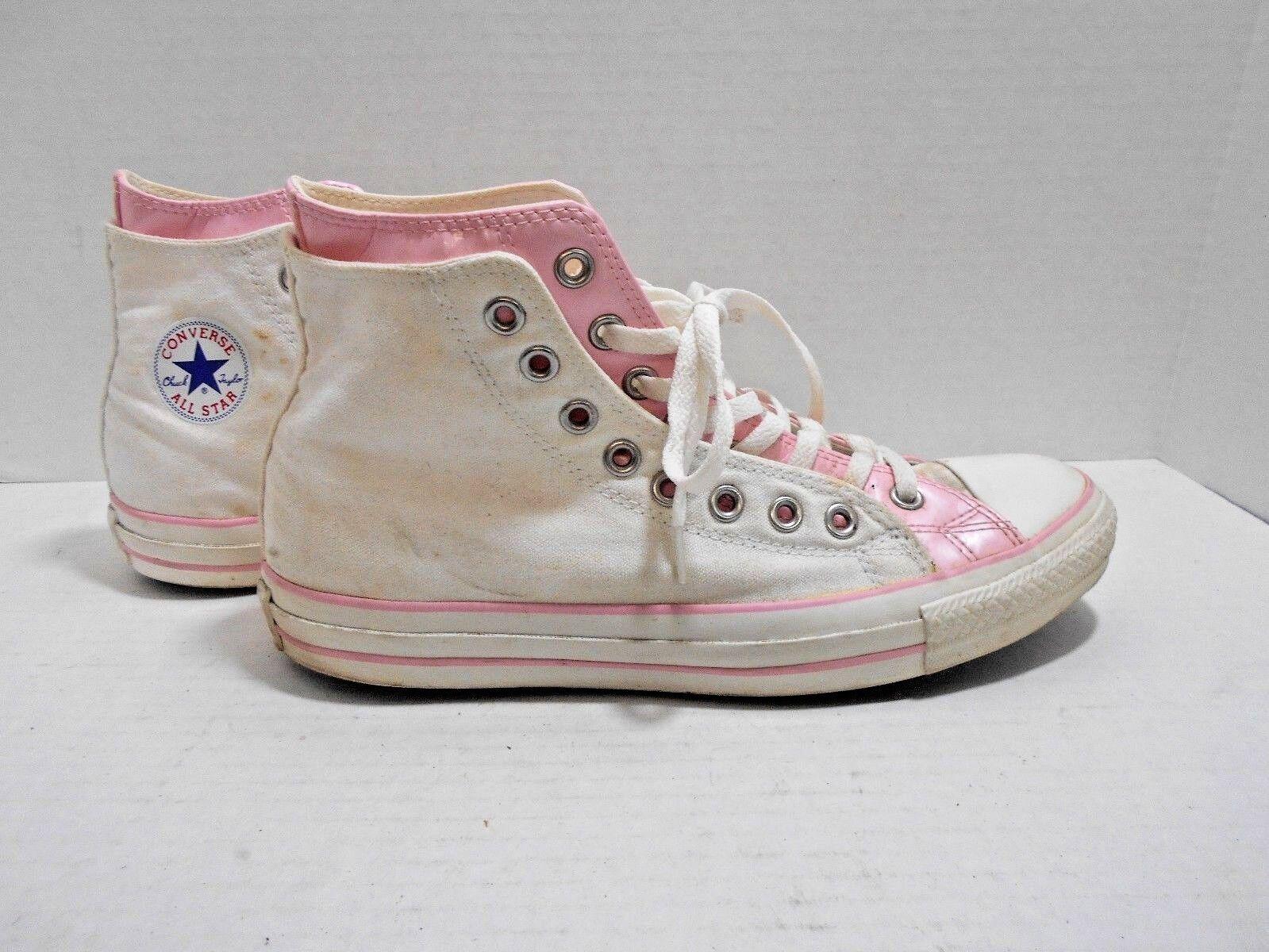 Converse ALL STAR Sneakers - USA HI TOP-  MEN'S USA - SIZE 9 - Pink/Weiß Double Upper 7de692