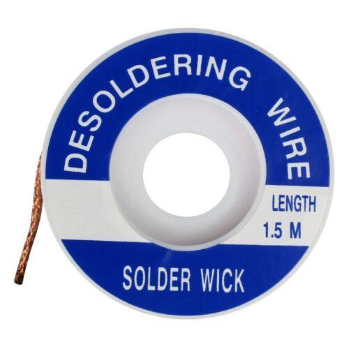 1,5 Km entlötlitze Différentes Tailles//Desoldering Wire 2,92 €//m