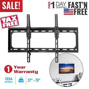 LCD-LED-Plasma-Tilt-TV-Wall-Mount-Bracket-37-40-42-46-47-50-52-55-60-65-70-Inch