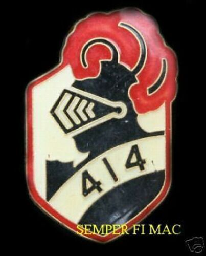 414 Black Knight Support Squadron CAF CANADA HAT PIN UP