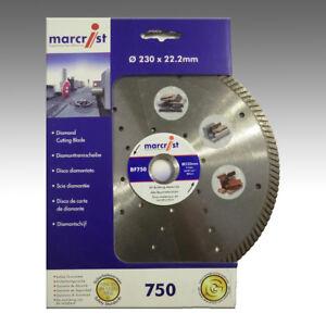 PREMIUM-Marcrist-BF750-230mm-x-22-23mm-Diamant-Trennscheibe-Granit-Naturstein