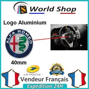 Logo-ALFA-ROMEO-40mm-volant-new-sigle-badge-embleme-40-mm-emblem-147-mito-brera