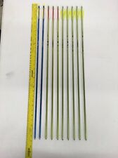 10 *NEW* Easton Genesis NASP Approved Aluminum Arrows, Mix Lot