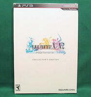 Final Fantasy X/X-2 HD Remaster -- Collector's Edition (Sony PlayStation 3, 2014) Video Games