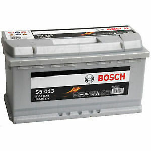type 019 s5 013 bosch silver calcium car van battery 12v 100ah. Black Bedroom Furniture Sets. Home Design Ideas