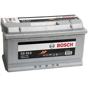 bosch s5013 car battery audi bmw mercedes vw 12v 100ah. Black Bedroom Furniture Sets. Home Design Ideas