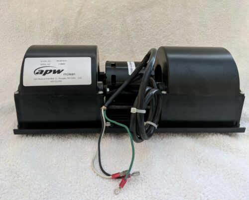 TypeU21 E17 McLEAN Blower Assembly 71212638 P//N:28-1064-03 Motor 43-2013-01