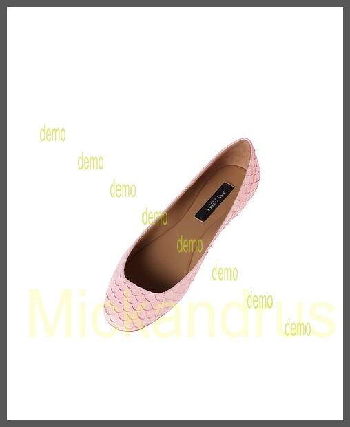 119 NIB Ann Taylor TextuROT Exotic Yellow Leder Ballet Flats Yellow Exotic Größe 8 0d65d4