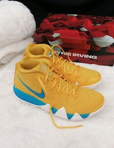 b24a7c98f88 Size 10 MENS Nike Kyrie Irving 4 KIX CEREAL PACK AMARILLO YELLOW ...